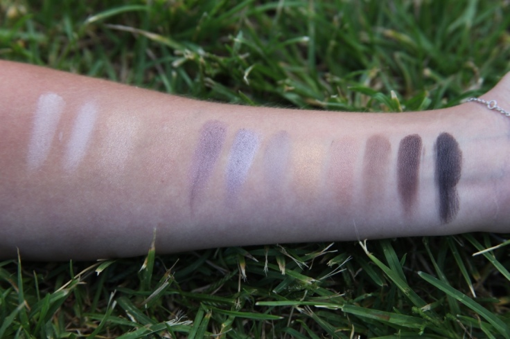 Swatch de la Natural EYE Kit